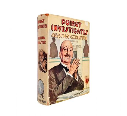 Poirot Investigates by Agatha Christie Early Reprint The Bodley Head 1938